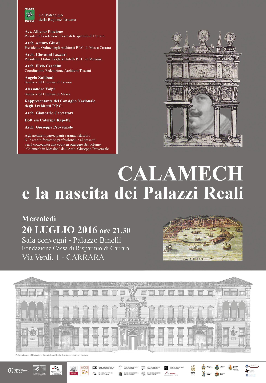 Albo Architetti Messina conferenza calamech e la nascita dei palazzi reali - ordine