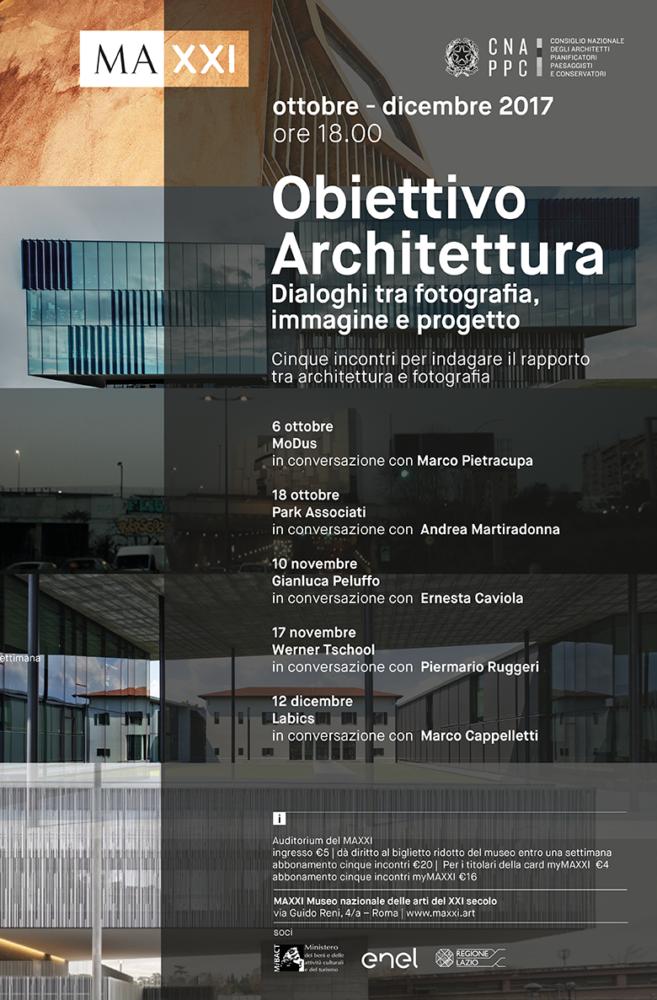 Obiettivo architettura dialoghi tra fotografia immagine for Progetti architettura on line
